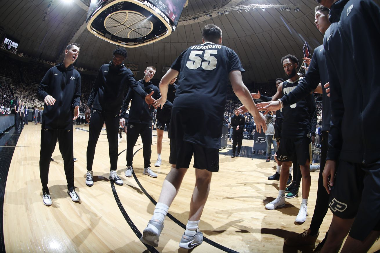 NCAA Basketball: Rutgers at Purdue