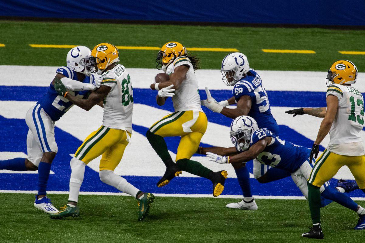 NFL: Green Bay Packers at Indianapolis Colts