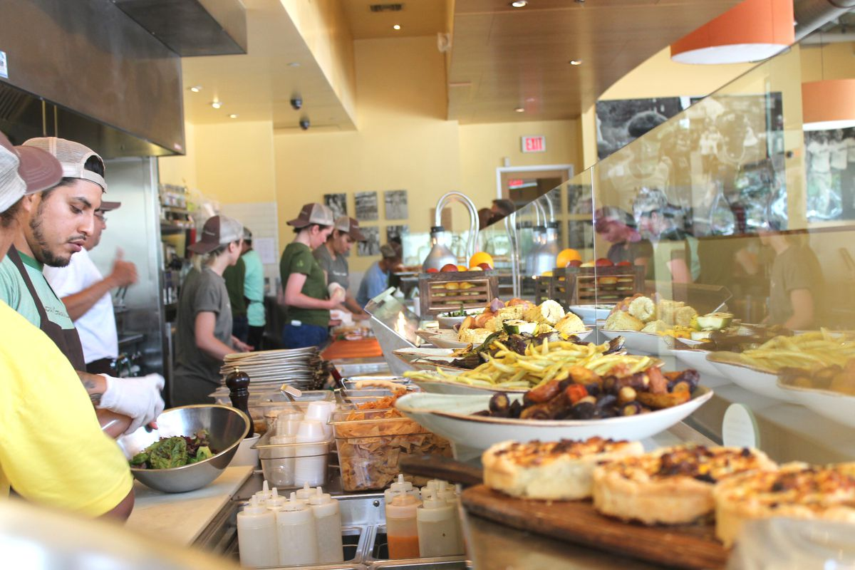 Tender greens 39 new nyc location already knows who will eat for Craft restaurant century city