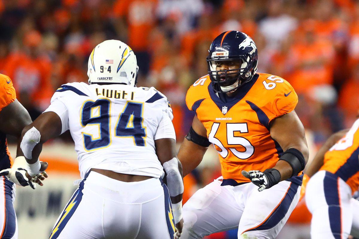 Broncos at Chargers Inactives Joe Barksdale and Corey Liu