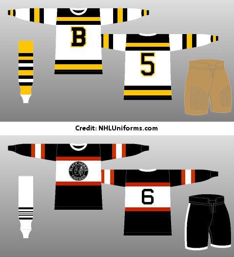 Bruins and Blackhawks unveil their 2019 Winter Classic logos ... 7e679b223