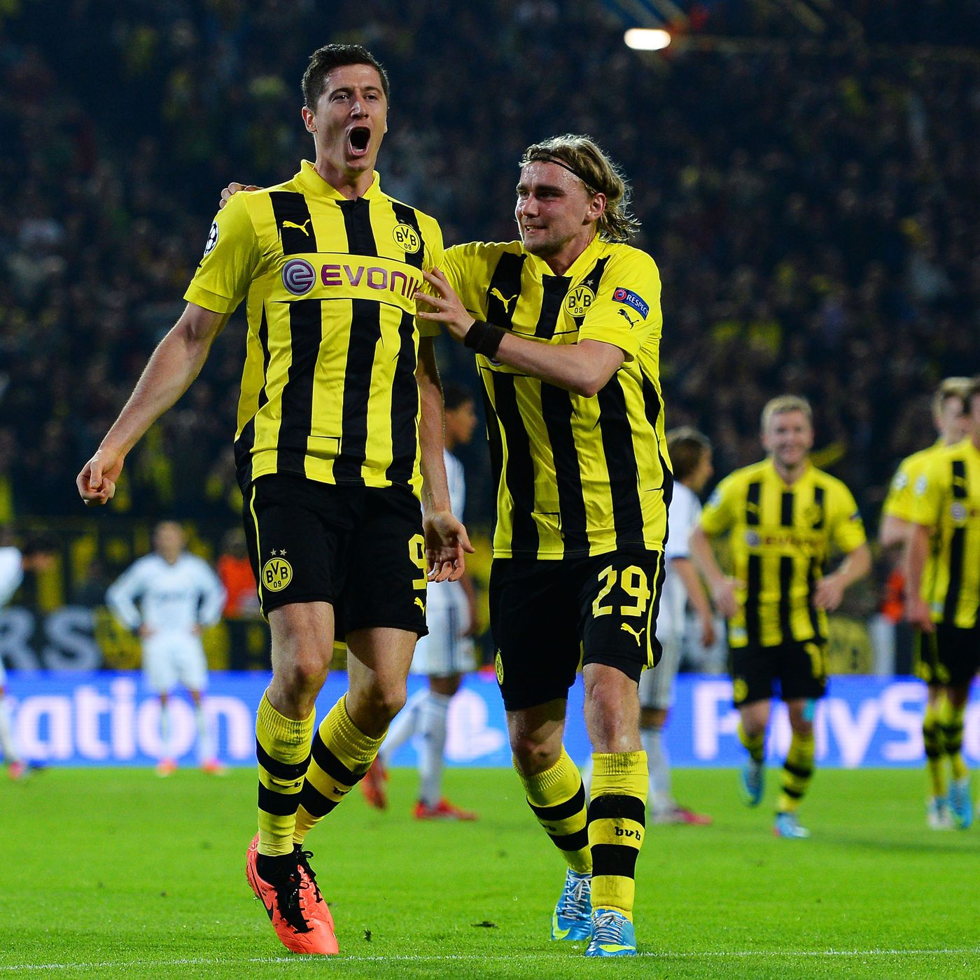 Borussia Dortmund Vs Real Madrid UEFA Champions League Final Score Robert Lewandowski The Star SBNation com