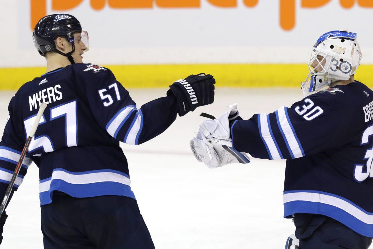 NHL: Vegas Golden Knights at Winnipeg Jets