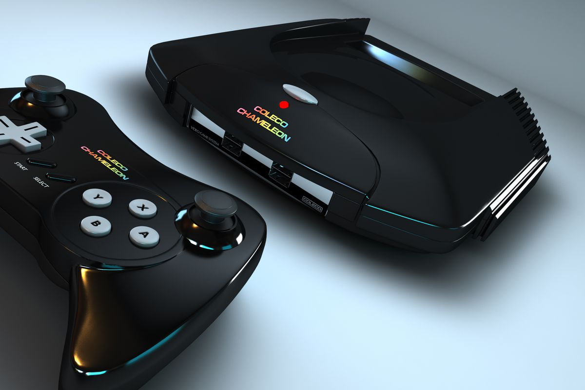 The creators of the colecovision are back with a new cartridge based console the verge - Atari game console for sale ...