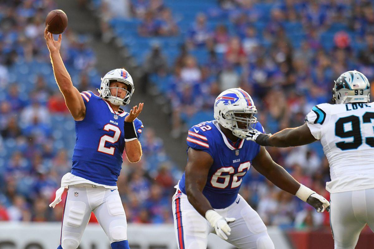 7961f43fc Nathan Peterman named Bills starting quarterback - Cardiac Hill