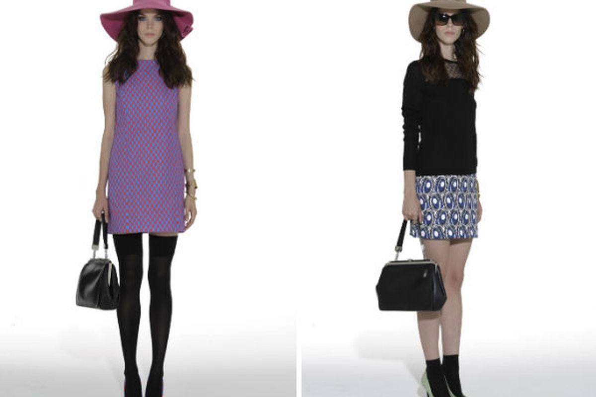 Two looks from the upcoming Miss Wu collection, via WWD