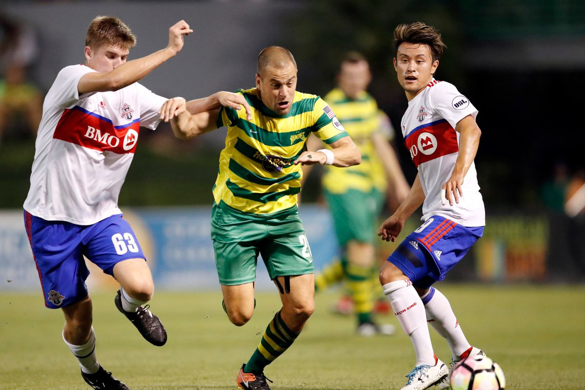 TFC II @ Tampa Bay Rowdies - Cole, Fraser, Endoh