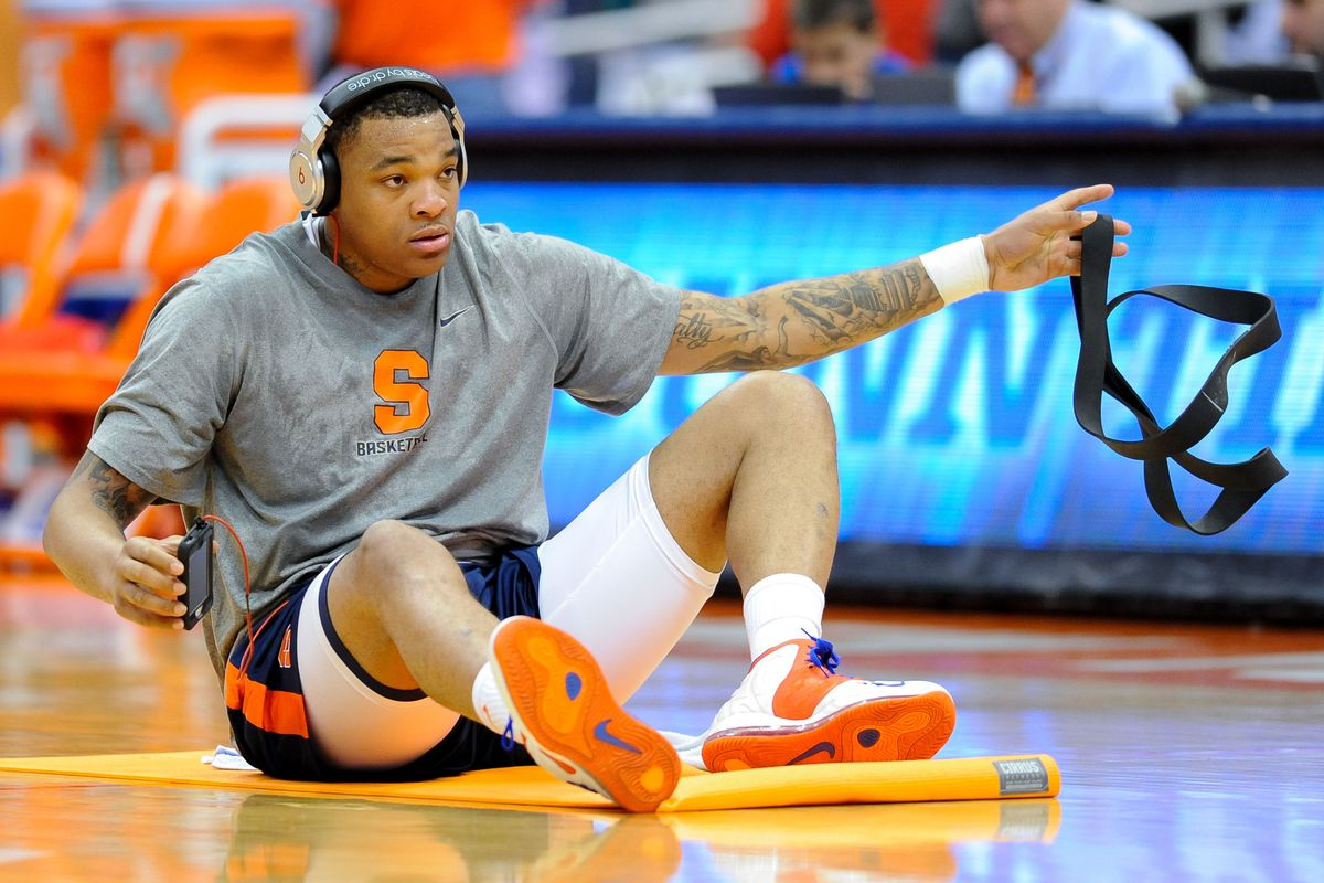 Dajuan Coleman Injury Leg Issues Force Syracuse Center To Miss