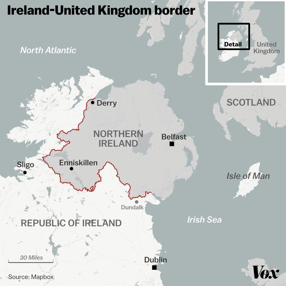 Brexit S Irish Border Problem Explained Vox