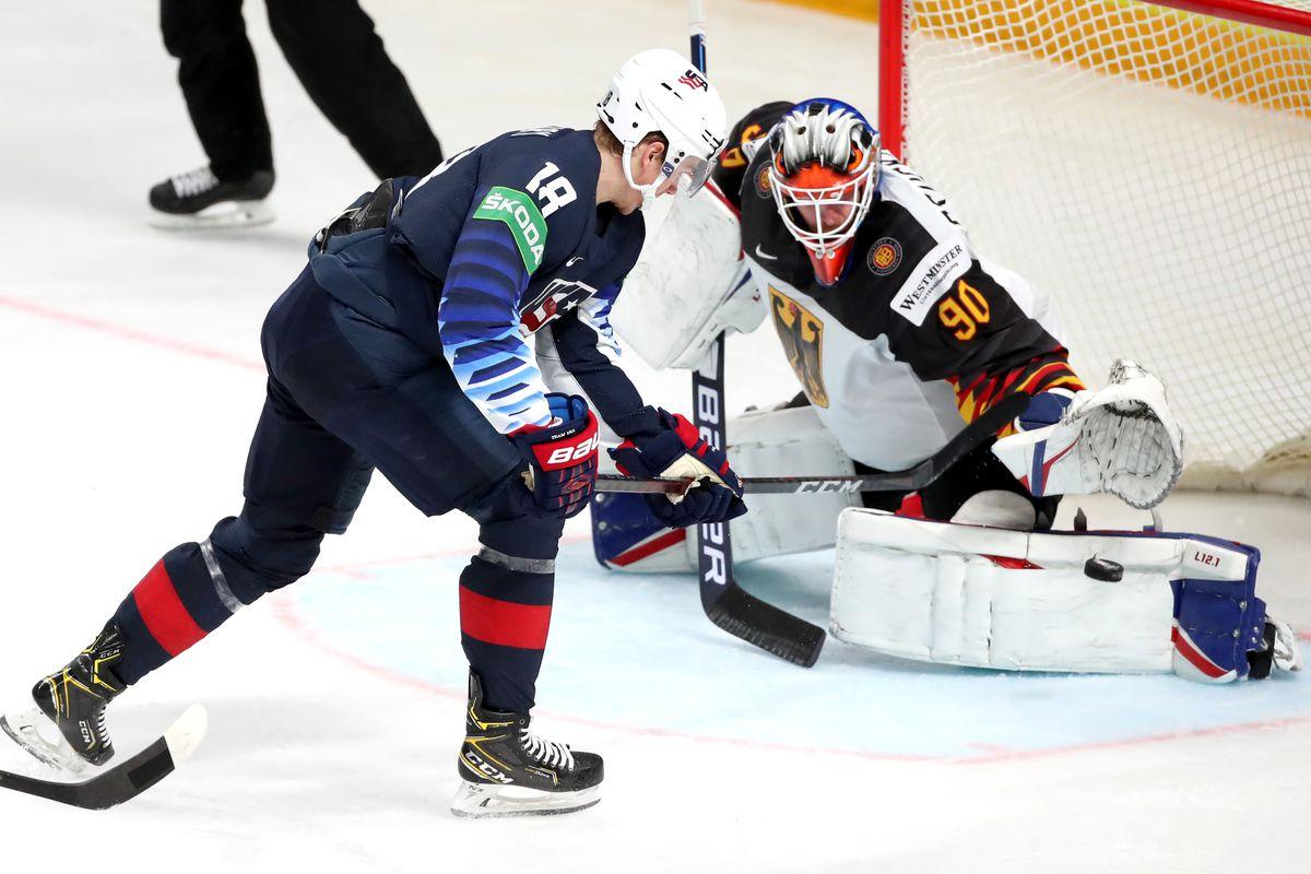 2021 IIHF World Championship, Bronze medal game: USA vs Germany