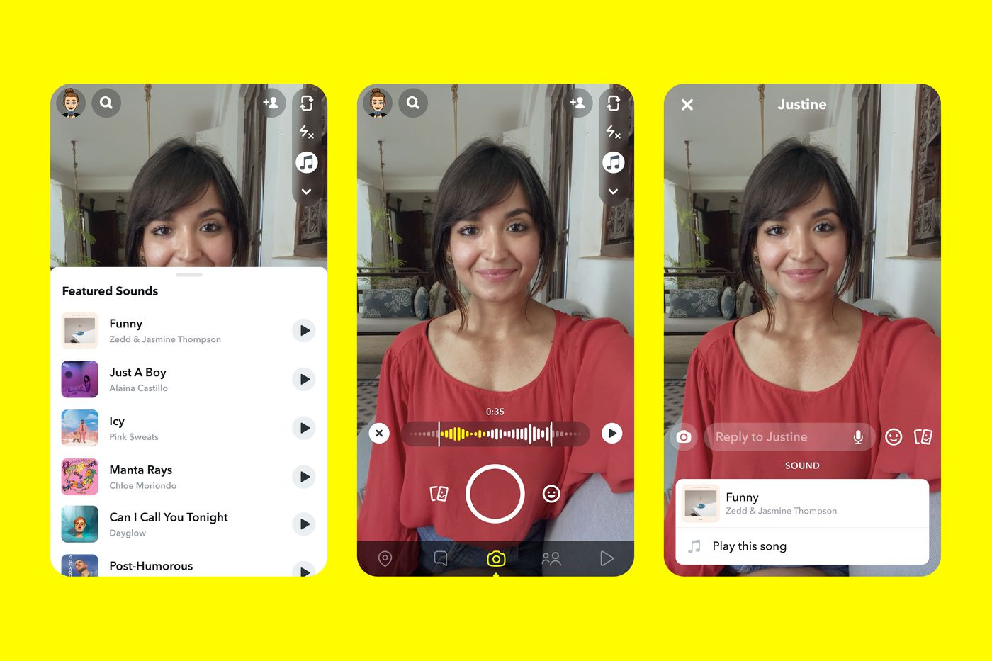Snapchat is adding a TikTok-style music feature - The Verge