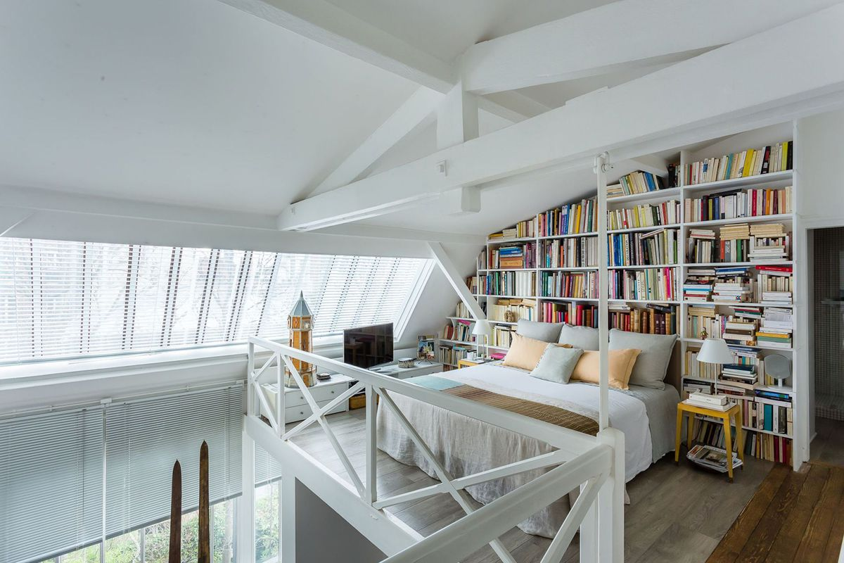 Paris artist studio with loft on the market for $2.6M - Curbed