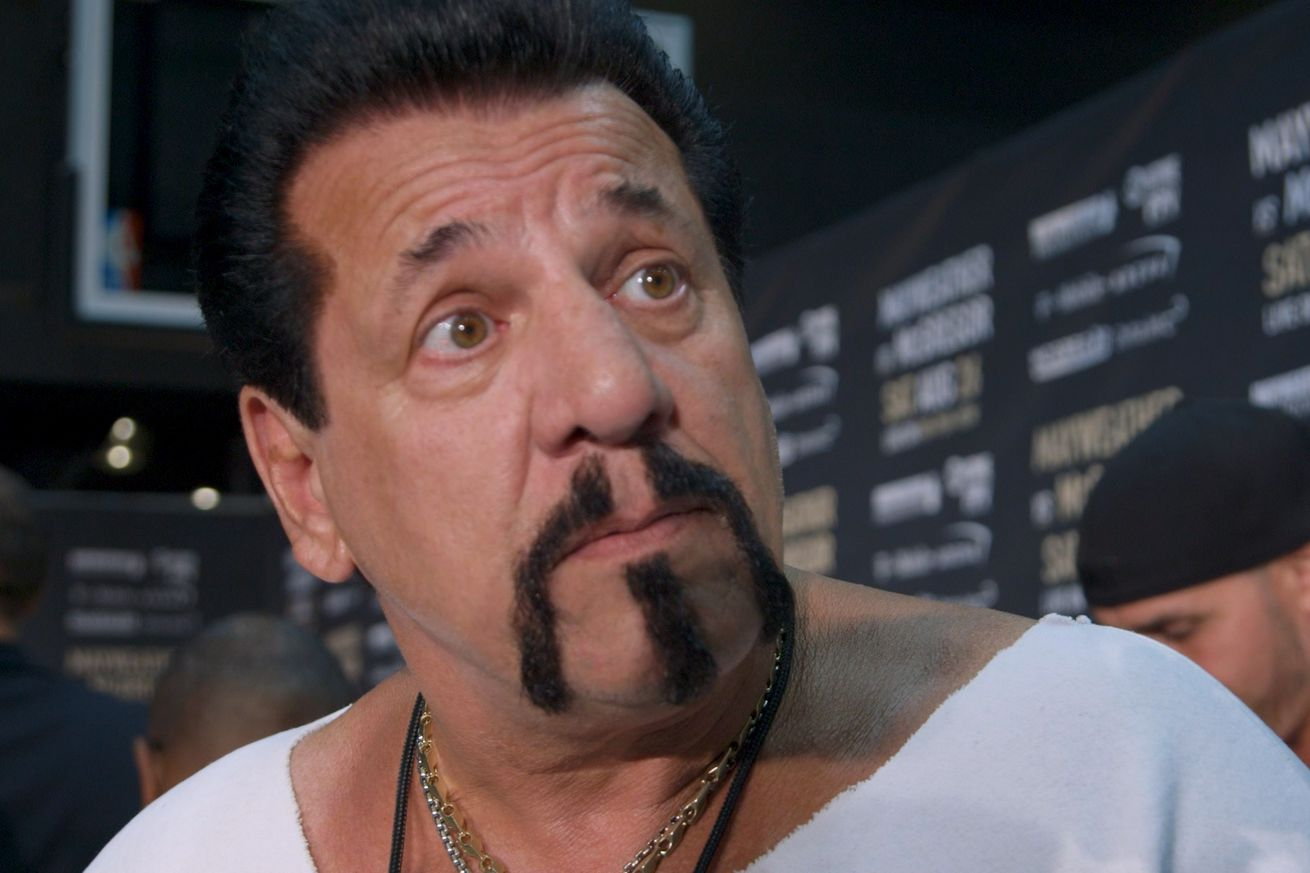 Chuck Zito was ready to go on stage if brawl broke out at Mayweather McGregor presser