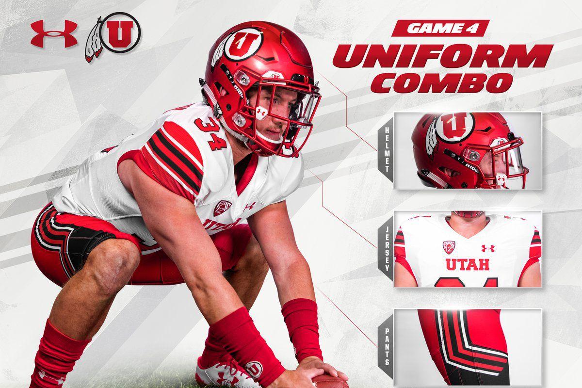 timeless design 163da e3fe7 Utah's Uniform Against Arizona - Block U