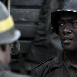 """Danor Gerald, right, plays Owens in """"Saints and Soldiers: The Void."""" The film opens in theaters Friday."""