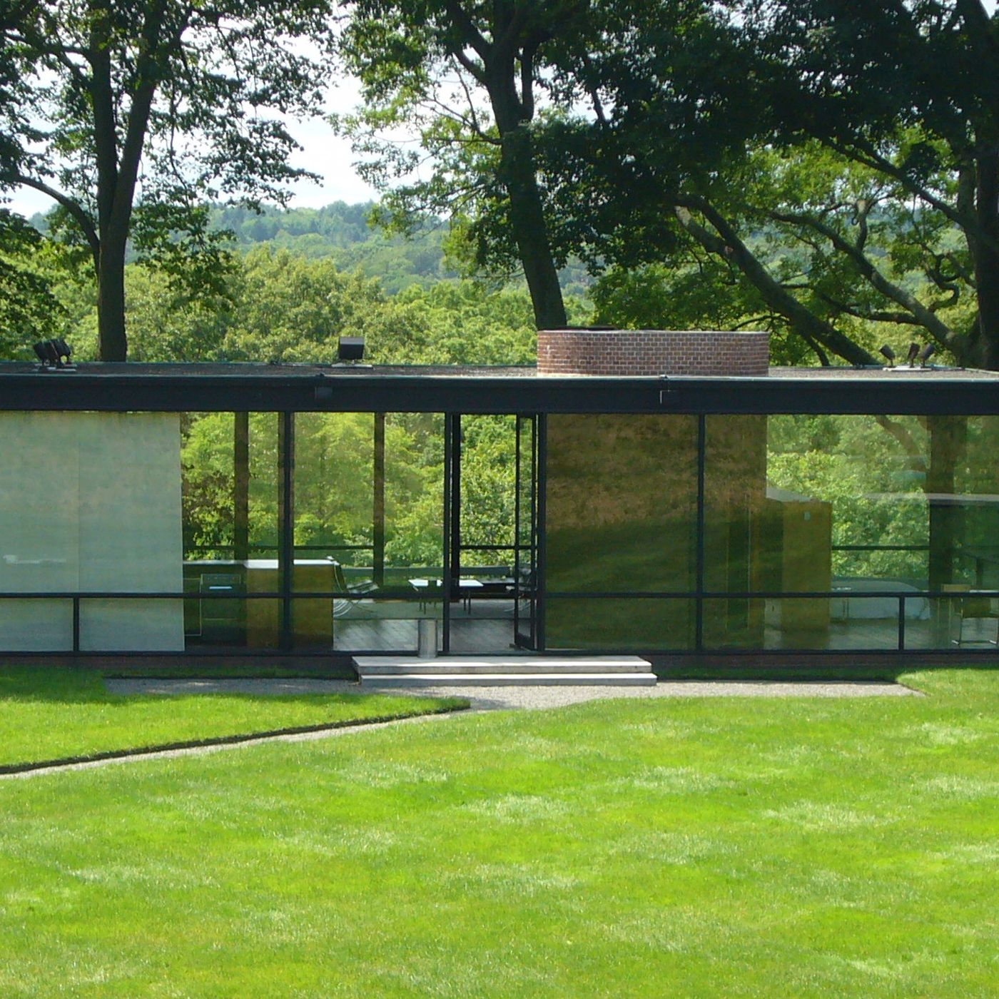 Philip Johnson The Man In The Glass House Book Review Curbed