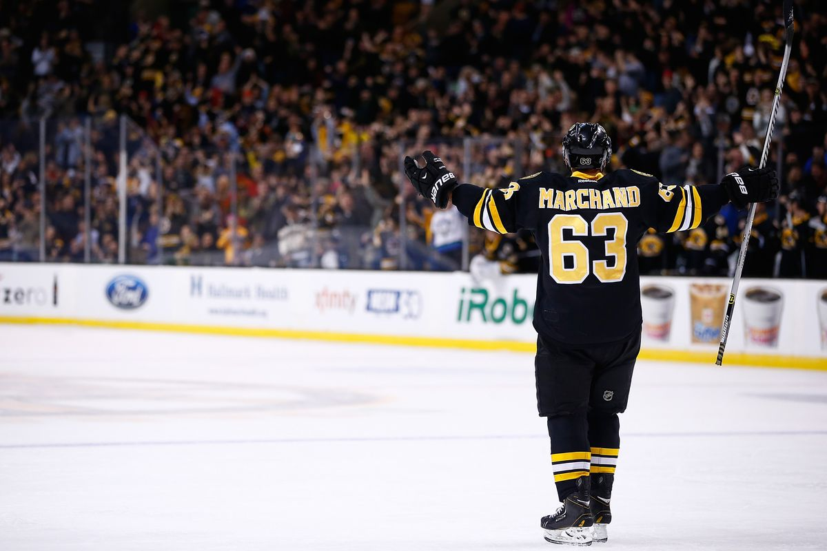 Brad Marchand, as the Good Brat