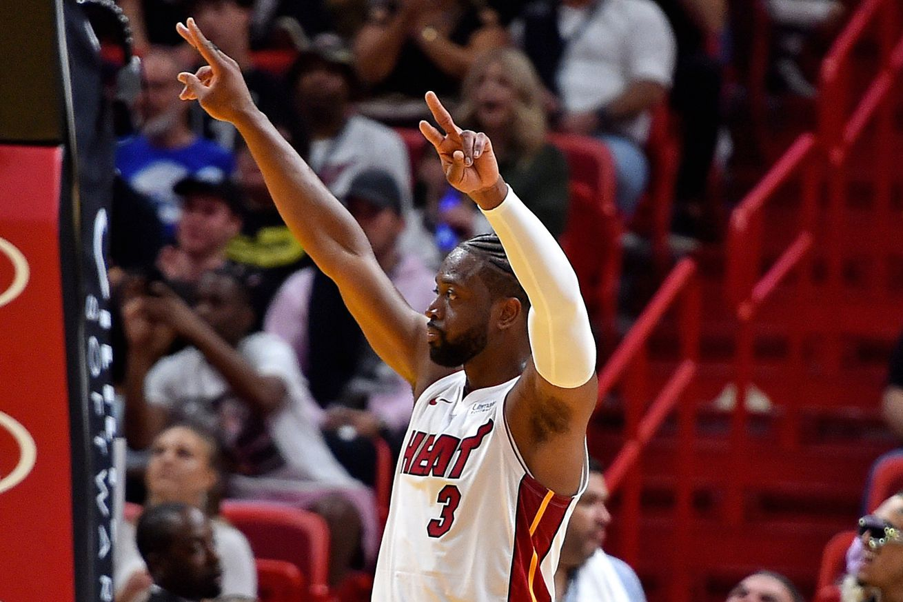 Wade reacts to his most famous highlights