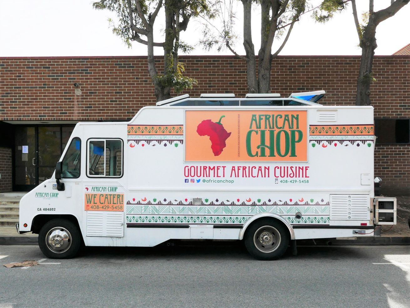 African Chop food truck in Los Angeles
