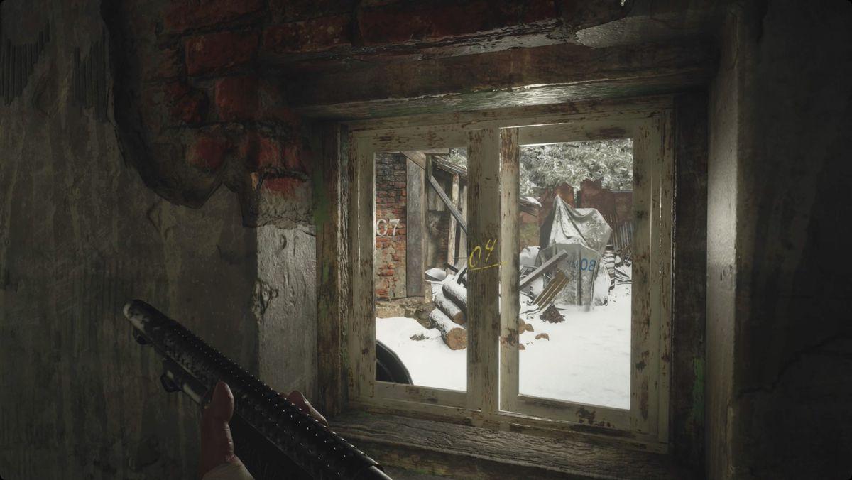 Resident Evil Village walkthrough part 8: House with red chimney Workshop combination