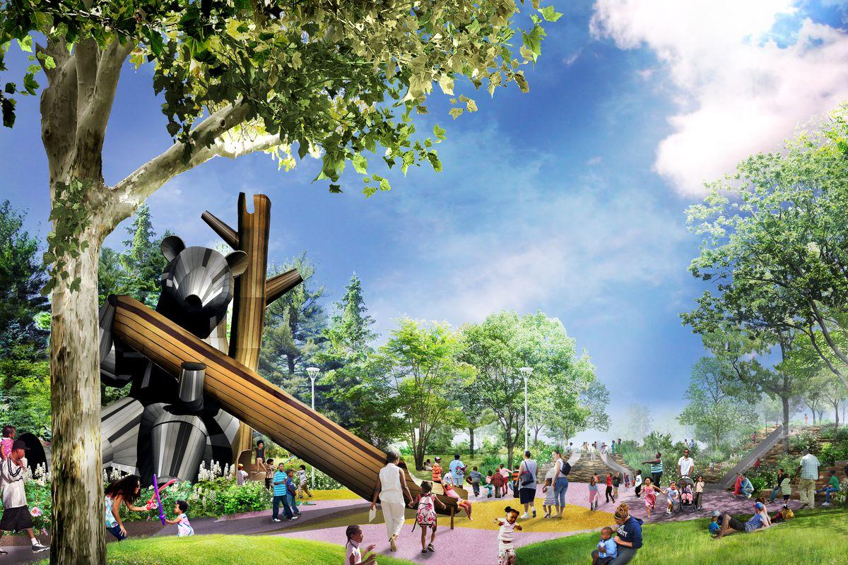West Riverfront Park lands $50M grant from Ralph C  Wilson