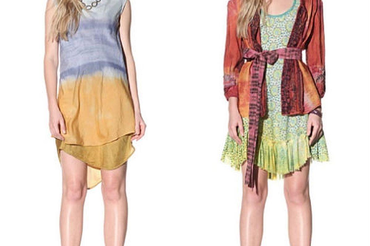 "<a href=""http://www.myhabit.com/#page=d&amp;dept=women&amp;sale=A1XBRL2X0U8THM&amp;asin=B006GFBYCQ&amp;cAsin=B006GFBZN4&amp;ref=qd_b_img_d_0"">Silk cotton dress</a>, $175 (was $500) and <a href=""http://www.myhabit.com/#page=d&amp;dept=women&amp;sale="