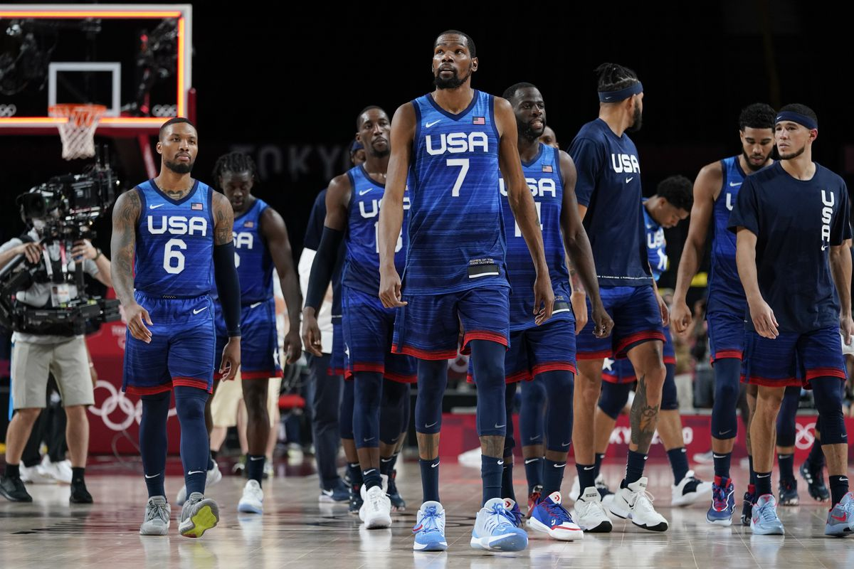 """NBC has brought back """"Roundball Rock"""" — for years its NBA theme music — for this year's Olympics."""