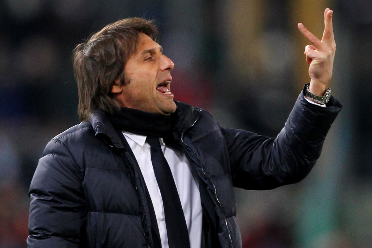 Let's ask Antonio Conte how many titles Juventus have won in a row...
