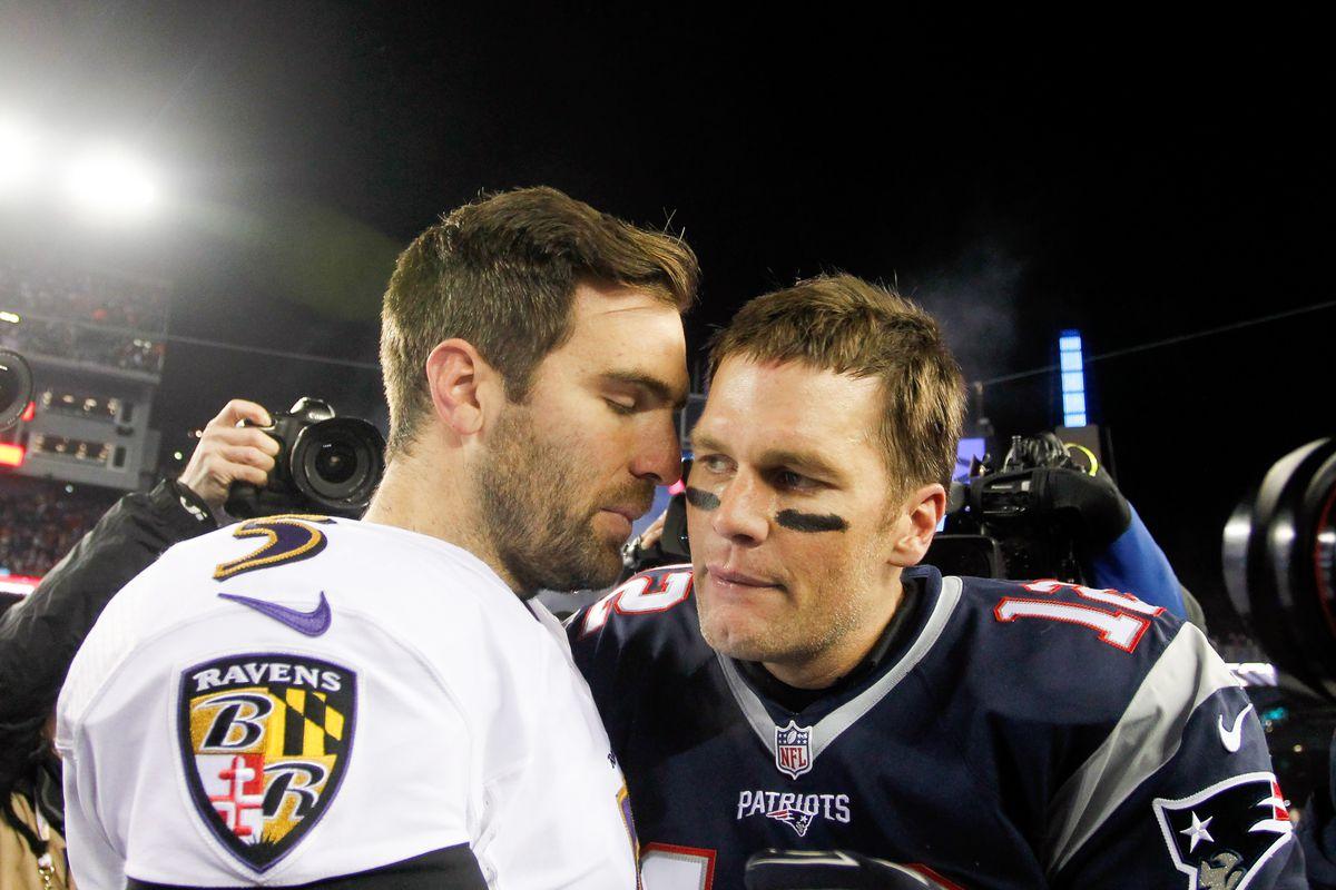 NFL: Baltimore Ravens at New England Patriots