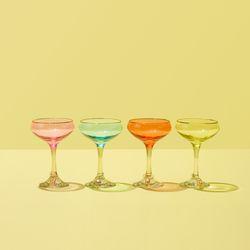 4-pack cocktail glasses, $30