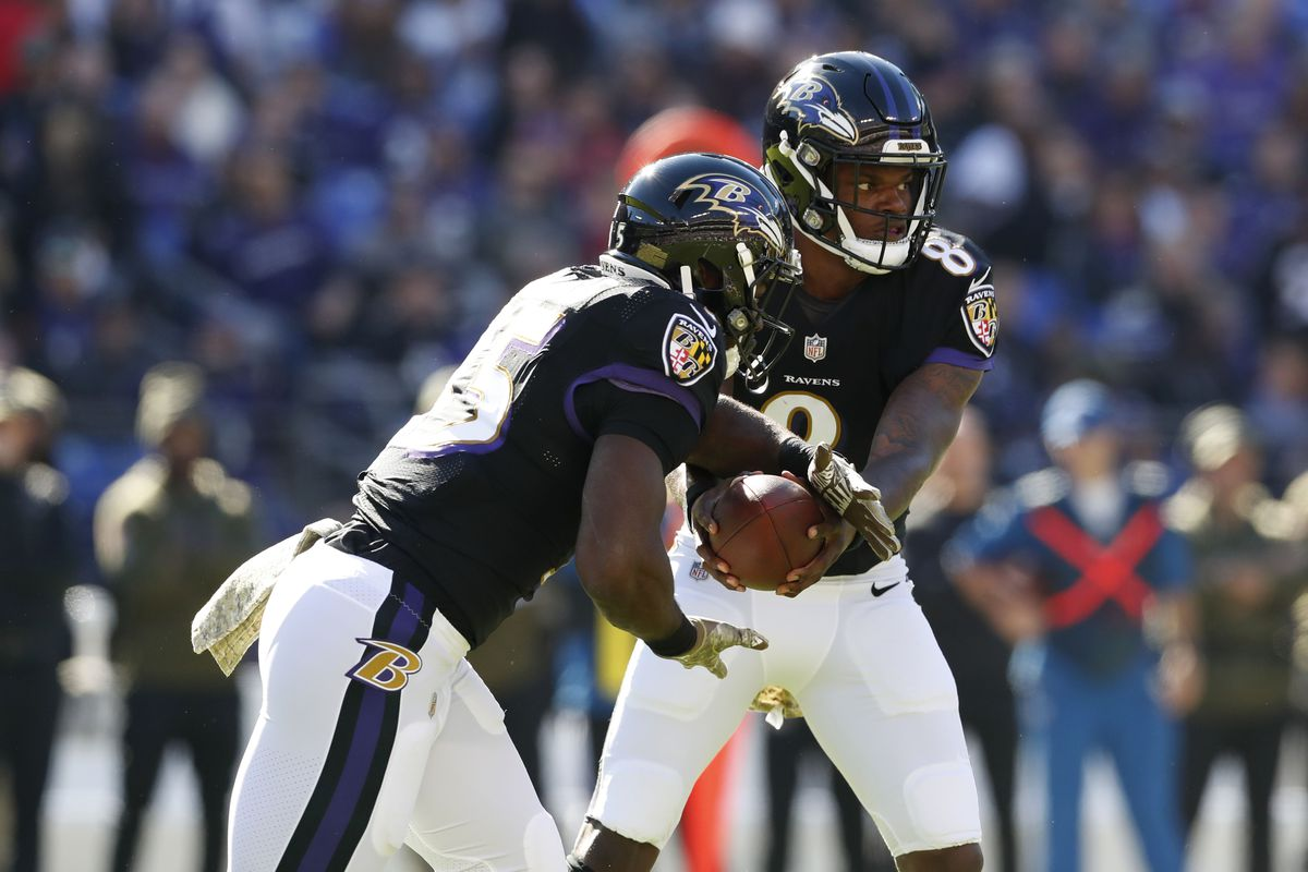 the ravens put all their eggs in one basket in order to survive