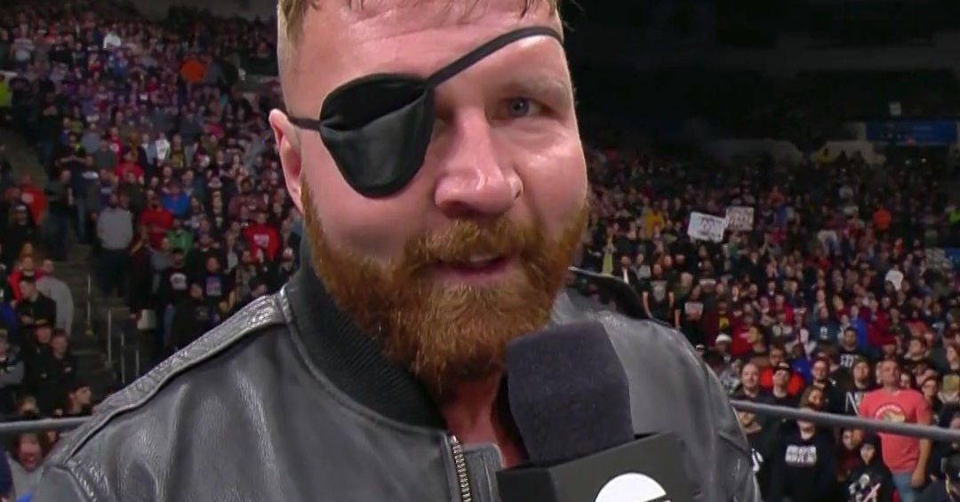 Look Up A Number >> Jon Moxley wearing an eye patch is a mood - Cageside Seats
