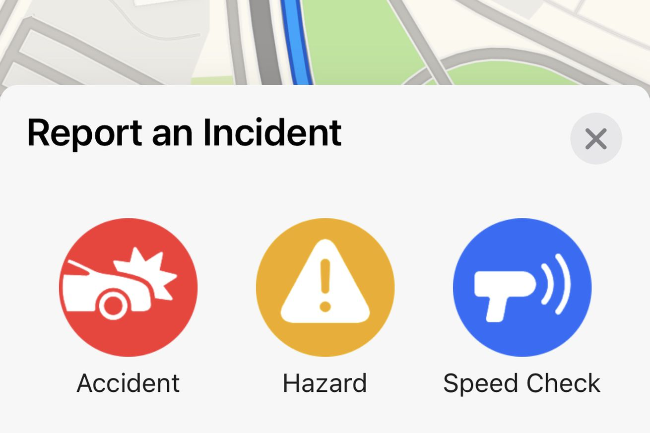 Apple Maps is getting Google and Waze-like accident reporting