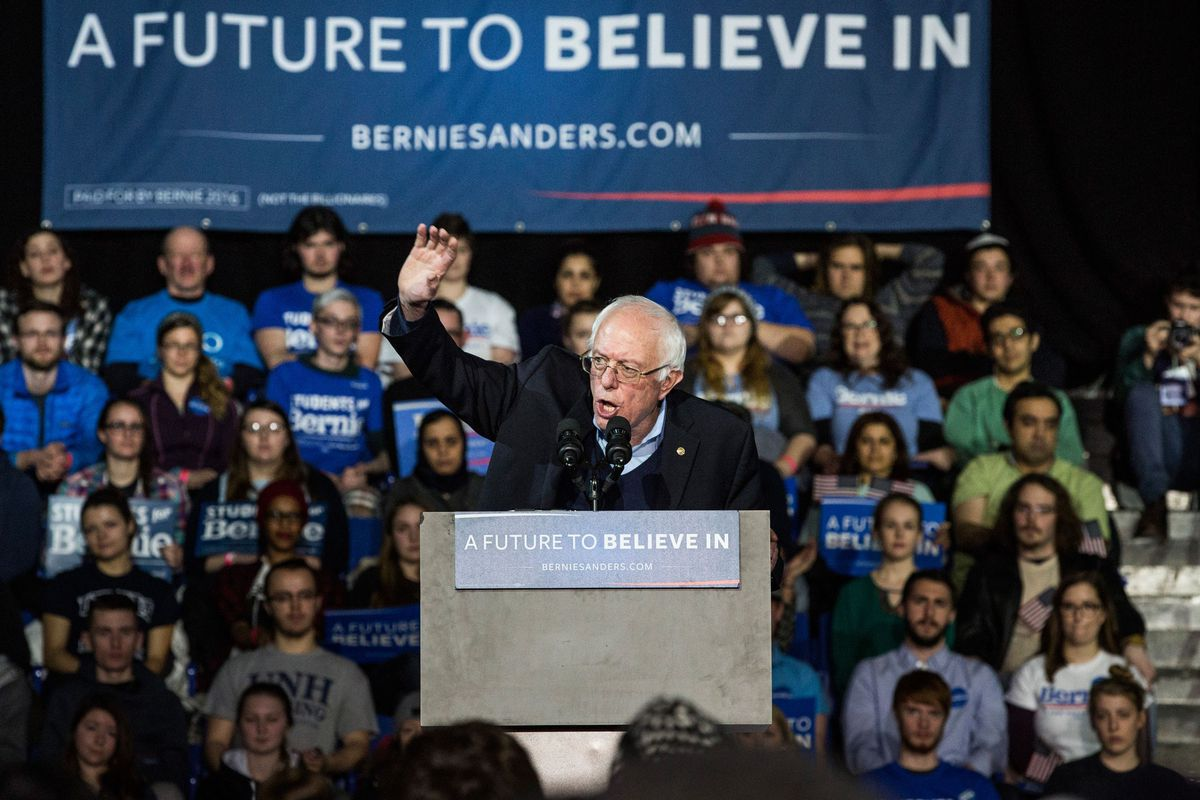 Bernie Sanders has criticized the closed primary for shutting the door on independent voters. But they're not the reason he's losing the race, according to a new analysis.