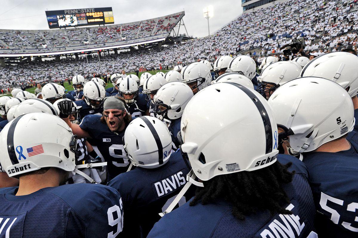 Penn State makes minor uniform change 0378432a65c8