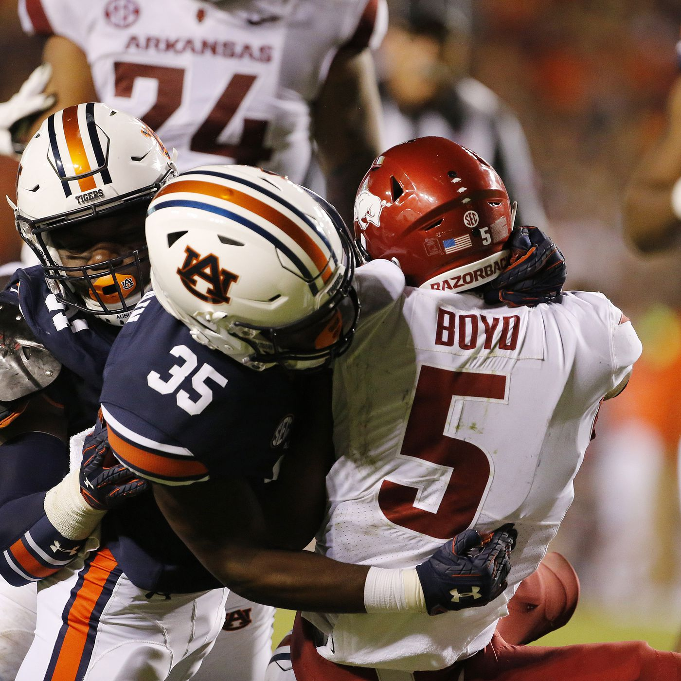info for b1cf1 d86fc Game Superlatives: Auburn 34, Arkansas 3 - College and Magnolia