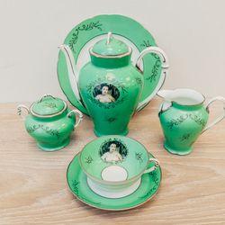 Cindy Sherman Madame de Pompadour Tea Set, $7,375