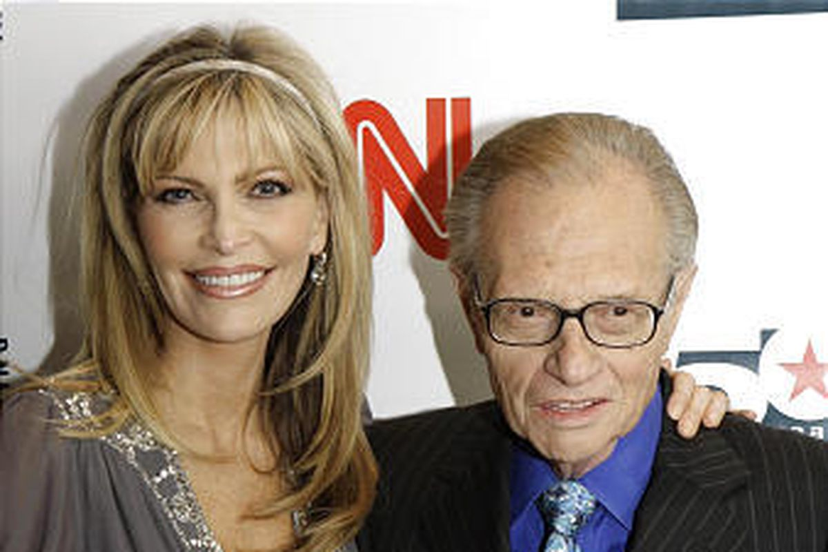 Larry King and his wife Shawn arrive to a party held by CNN celebrating King's 50 years of broadcasting New York in April 2007. Shawn King, who hails from Utah, spoke about Larry King in a new statement.
