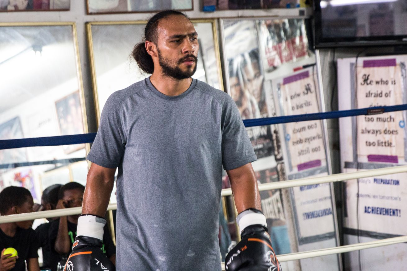 Keith Thurman Training Camp 07 20 2019 Training camp Andy Samuelson   Premier Boxing Champions.0 - Thurman stresses 'no excuses' when he fights Pacquiao