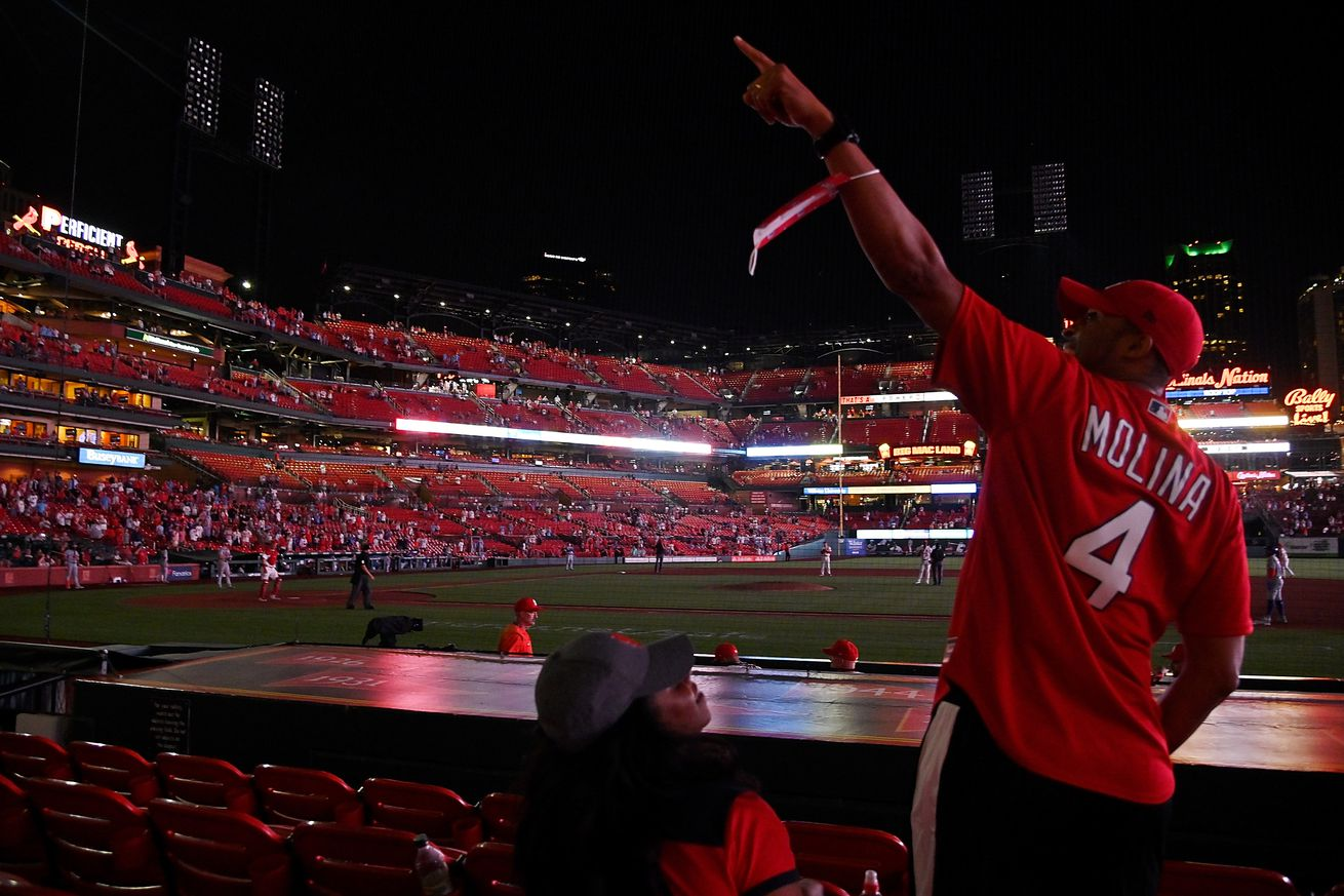 MLB: New York Mets at St. Louis Cardinals