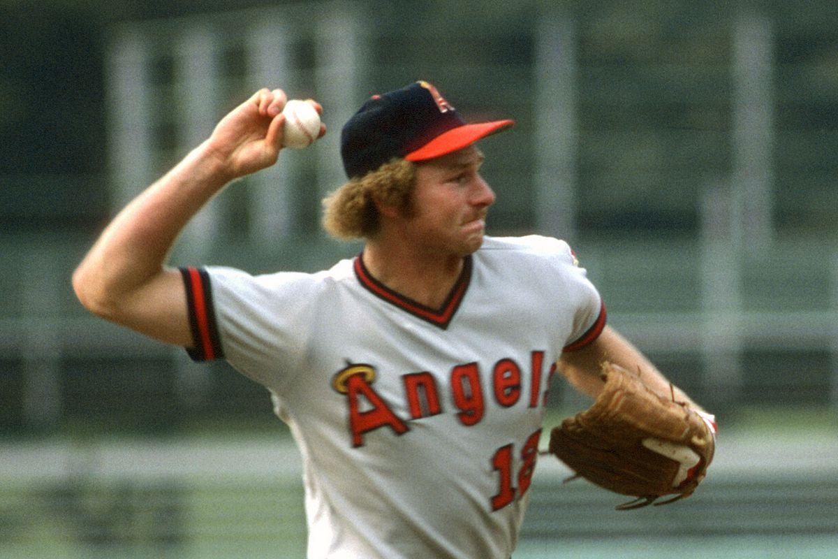 California Angels v Baltimore Orioles