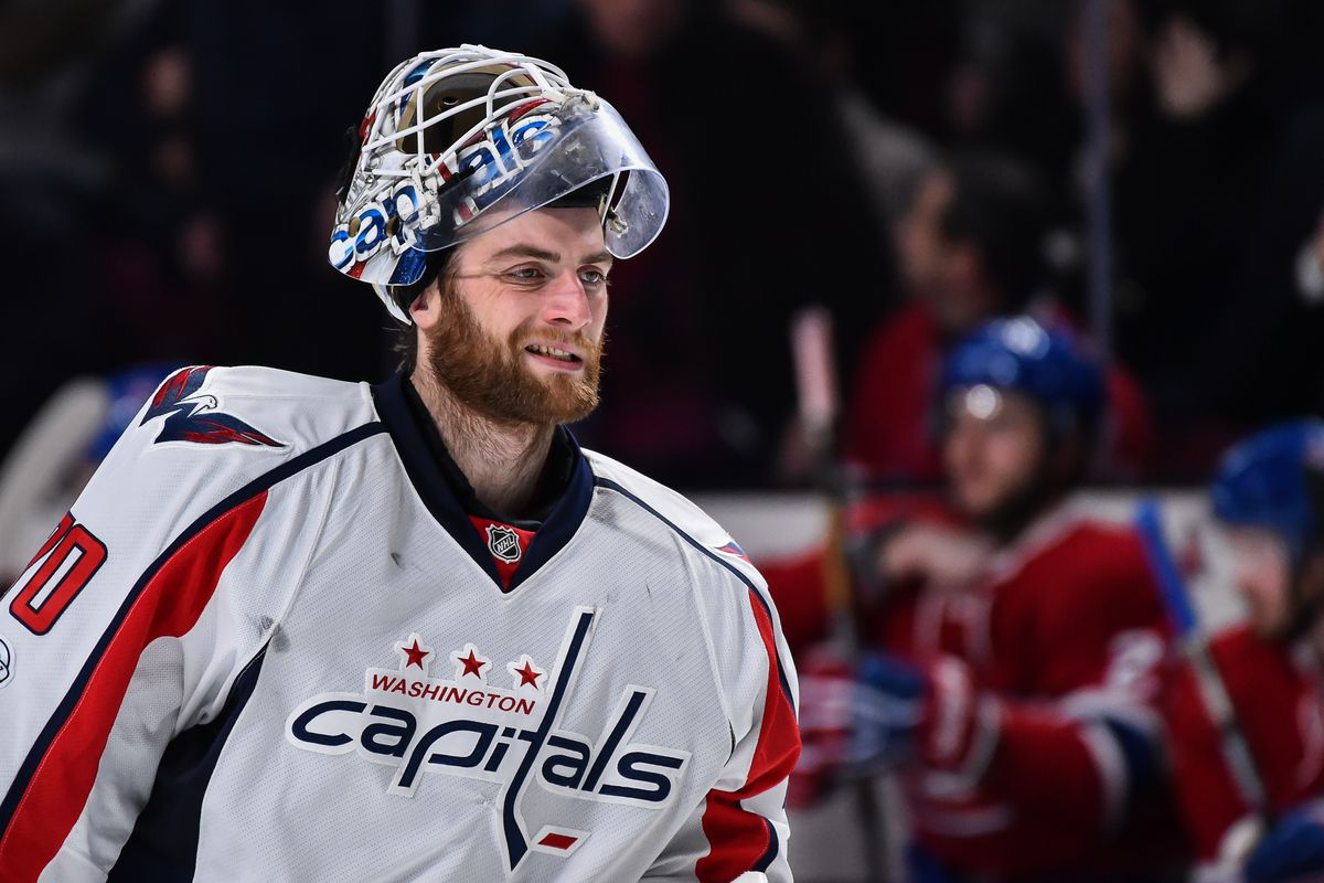 Capitals To Auction Off Goalie Braden Holtby S Mask For You Can Play Outsports