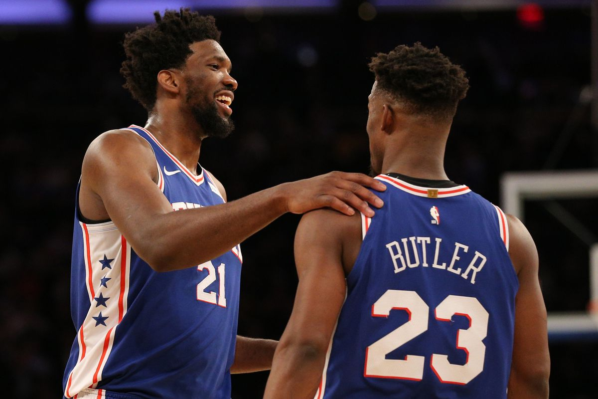 newest a9bd6 38b5f Posidelphia: Attitude, Jimmy Butler, And How Sixers Fans Can ...