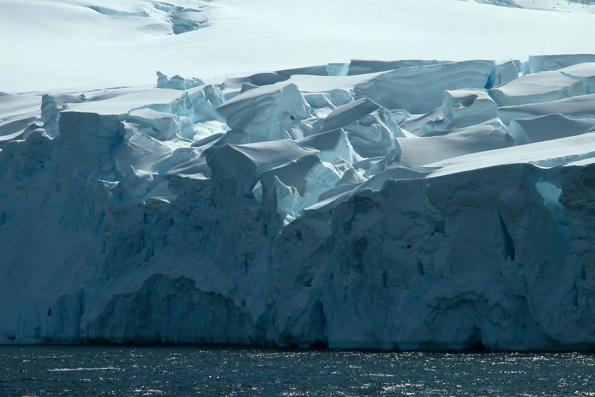 Trapped By Ice Up To Her Eyeballs And >> How Antarctica S Melting Ice Could Change Weather Around The World Vox