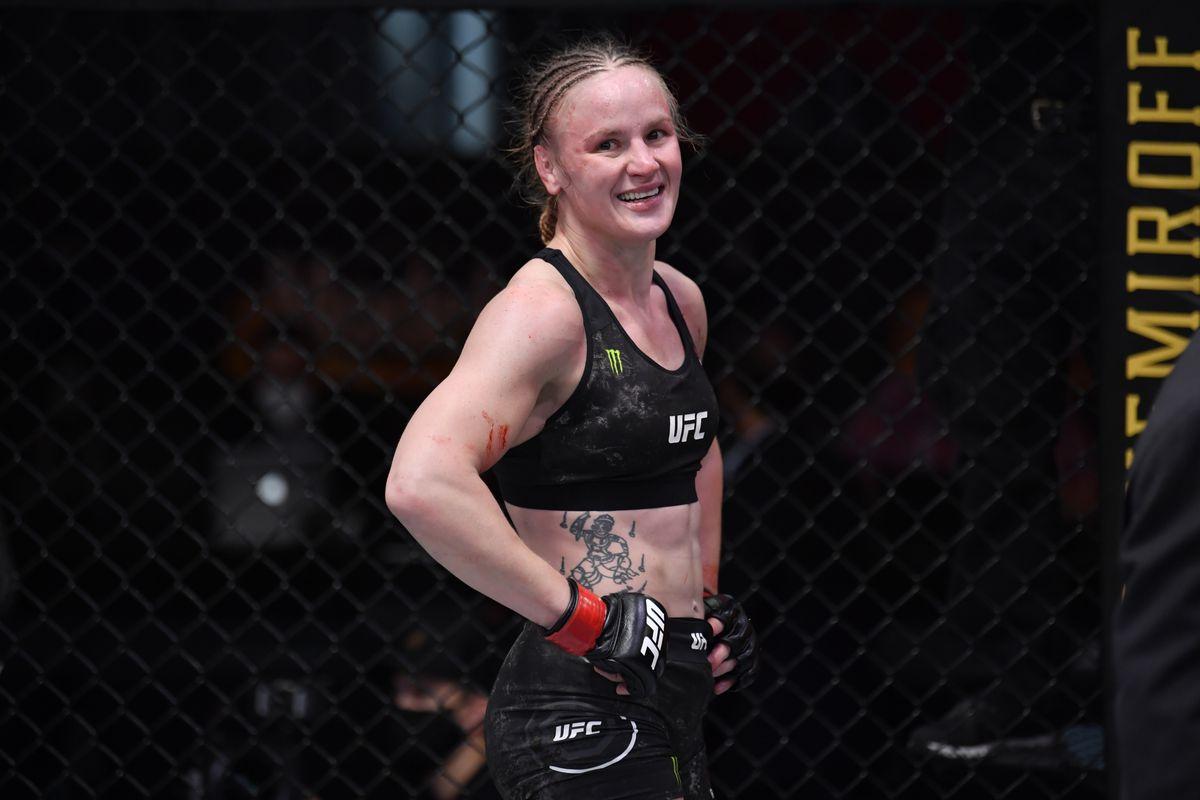UFC 255: Shevchenko v Maia