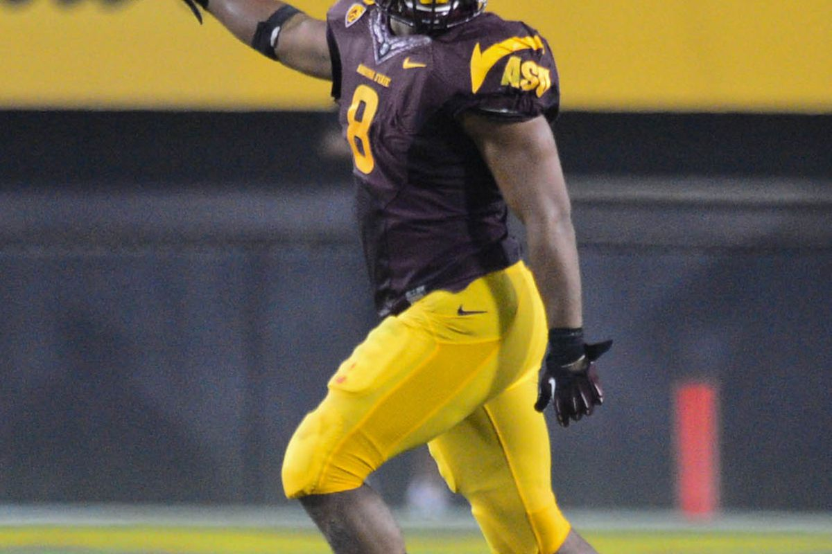 Today is Brandon Magee's final game at ASU.