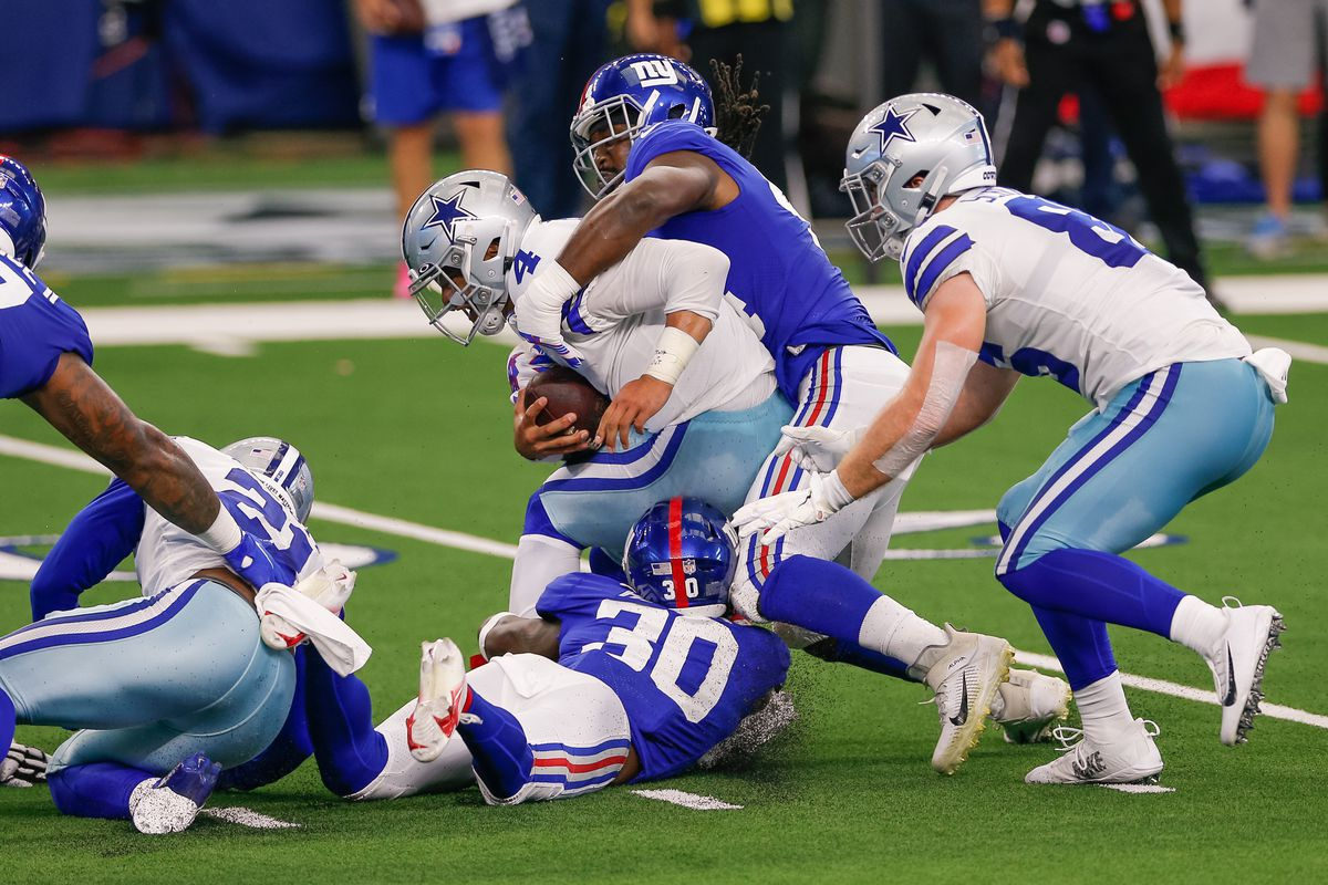 NFL: OCT 11 Giants at Cowboys