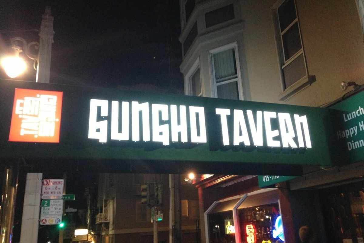 Ho's Bootleg Tavern took over the old Gungho Tavern space on Van Ness.