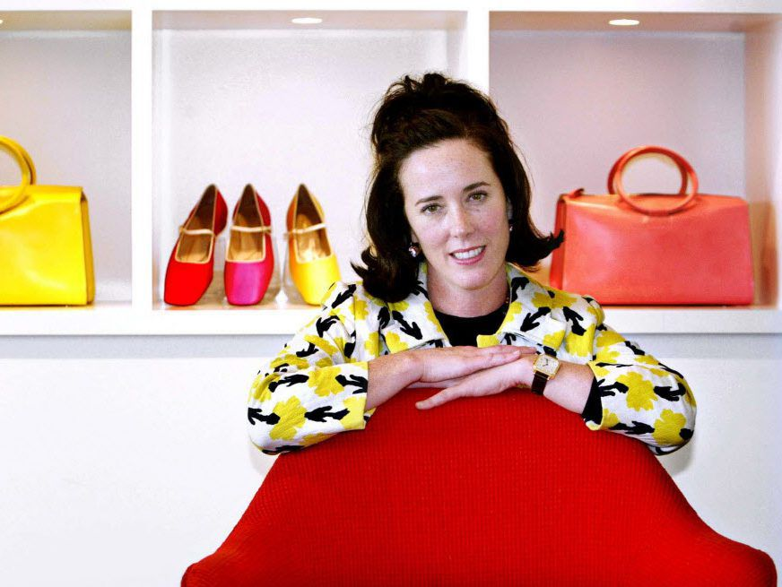 Fashion designer Kate Spade was found dead in New York of an apparent suicide, law enforcement officials say.   AP file photo