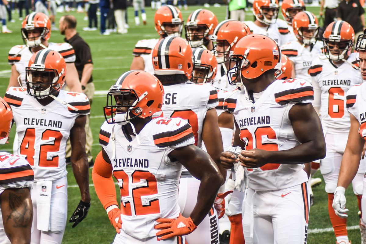 the best attitude d1706 d190d Cleveland Browns 53-Man Roster Projection (Post-Training ...